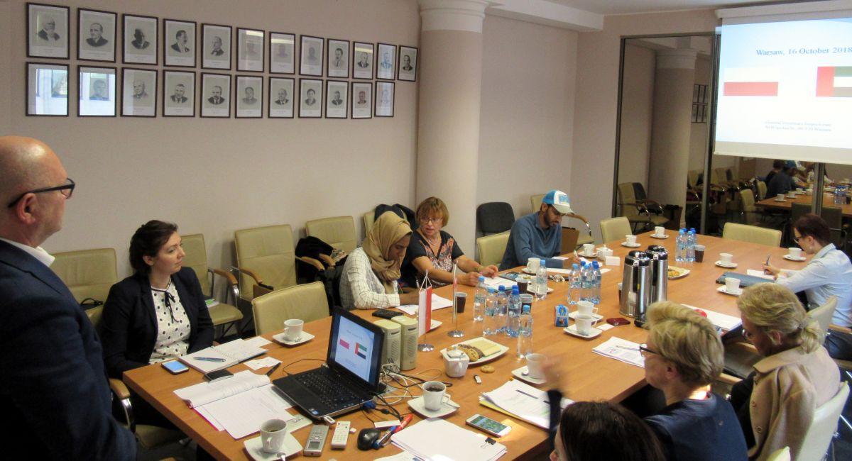 Wizyta studyjna ekspertów ze Zjednoczonych Emiratów Arabskich w Polsce