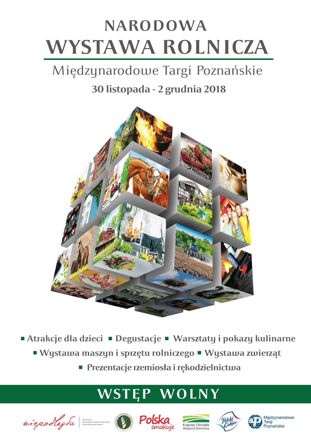 Narodowa Wystawa Rolnicza, 30 listopada - 2 grudnia 2018