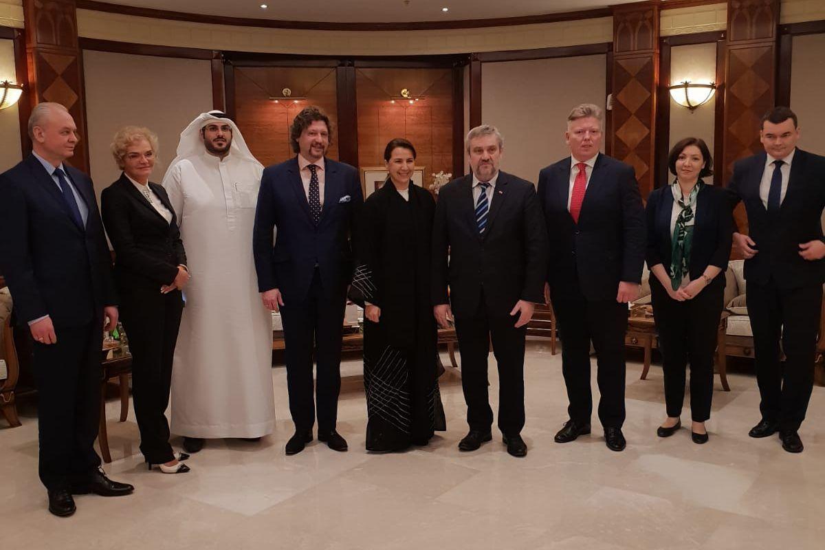 Wizyta polskiej delegacji w Zjednoczonych Emiratach Arabskich