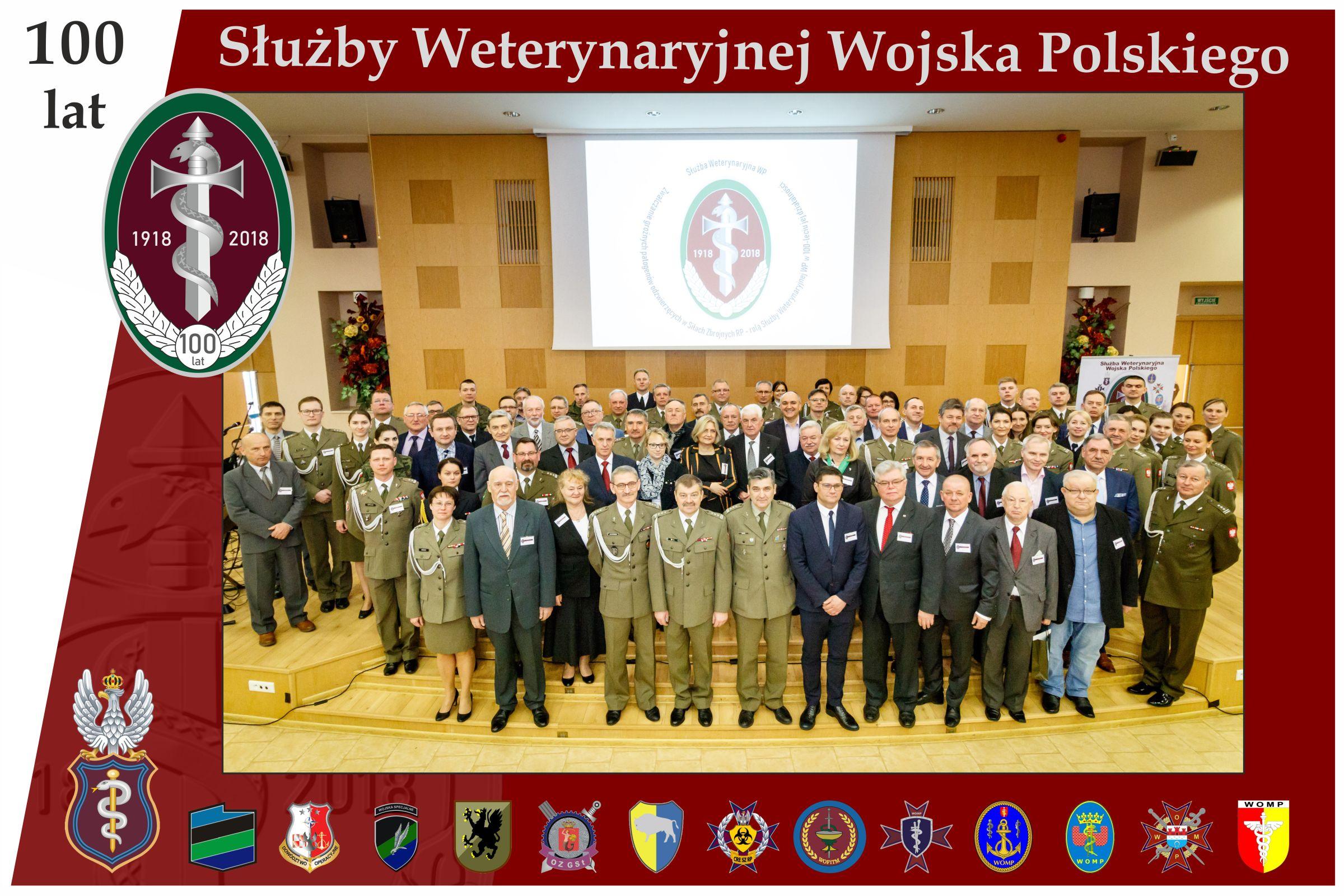 Obchody jubileuszu 100-lecia Służby Weterynaryjnej WP