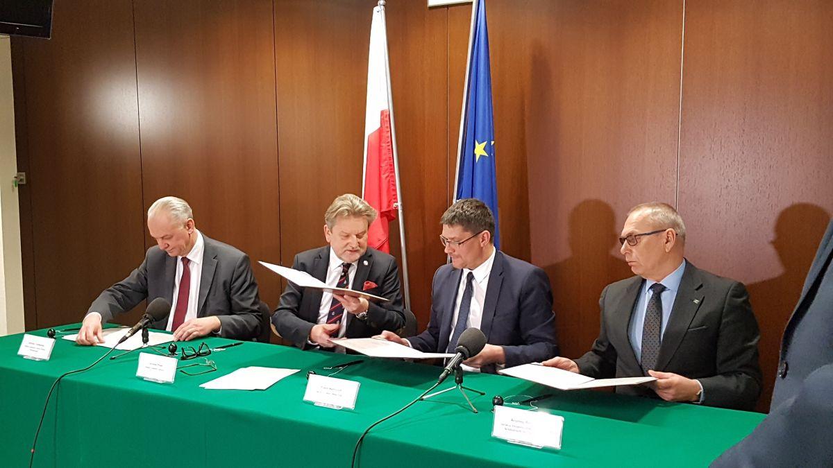 Porozumienie ramowe pomiędzy GIS, GLW, GIORiN i GJIHARS podpisane