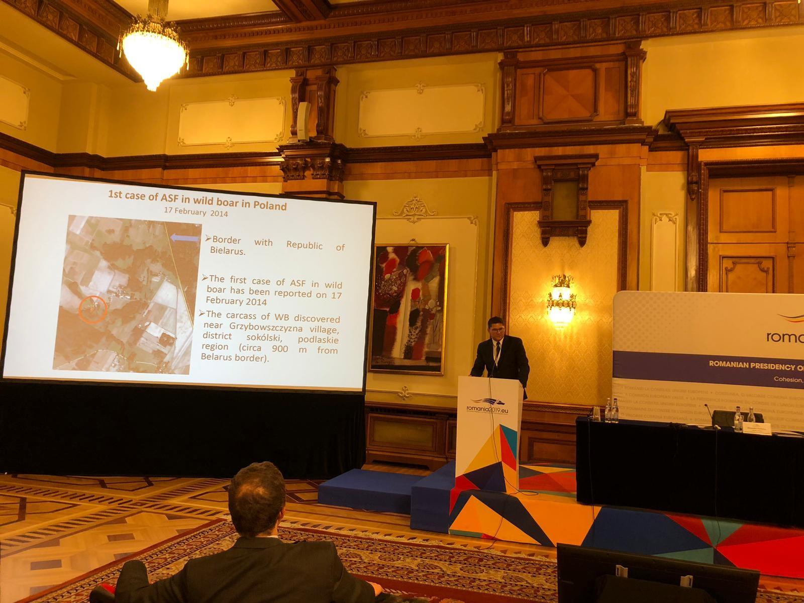 Udział Pawła Niemczuka, Zastępcy Głównego Lekarza Weterynarii, w Konferencji Wysokiego Szczebla nt. chorób transgranicznych zwierząt