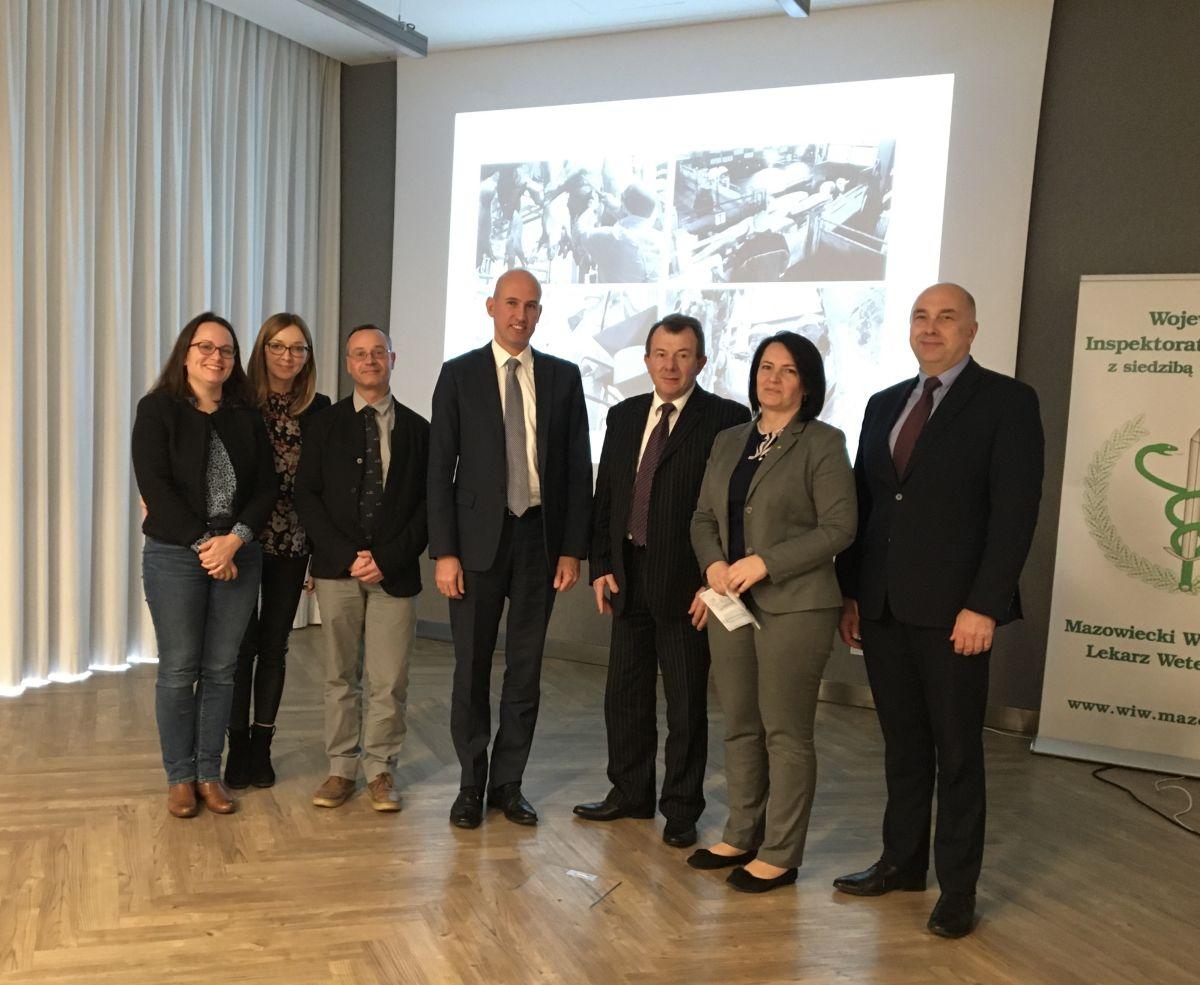 Spotkanie polskich i francuskich służb weterynaryjnych poświęcone kwestiom dotyczącym uboju zwierząt
