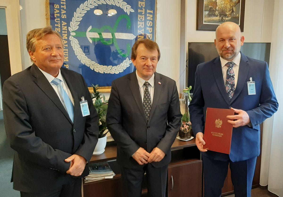 Powołanie Zastępcy Kujawsko-Pomorskiego Wojewódzkiego Lekarza Weterynarii