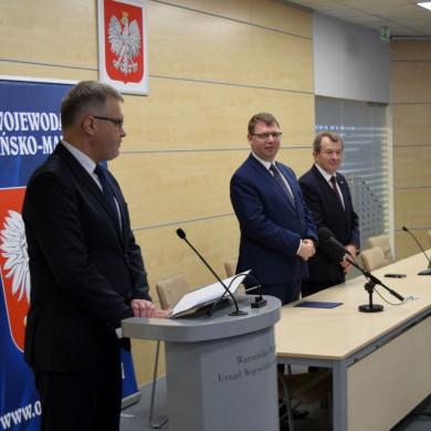 Wręczenie odznaczeń pracownikom warmińsko-mazurskiej Inspekcji Weterynaryjnej