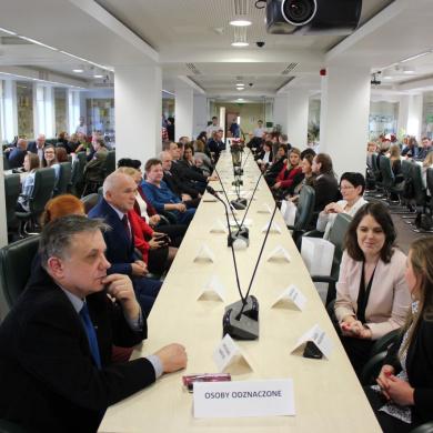 Spotkanie wigilijne w Głównym Inspektoracie Weterynarii połączone z wręczeniem odznaczeń