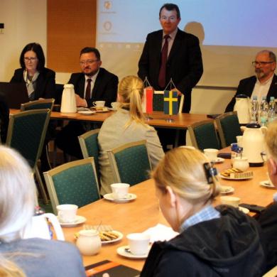 Wizyta delegacji szwedzkiej w celu zacieśnienia współpracy w obszarze zapobiegania ASF