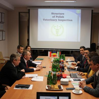 Wizyta delegacji rumuńskiej i bułgarskiej w celu omówienia kwestii dotyczących występowania ASF, HPAI i zakażeń Salmonella