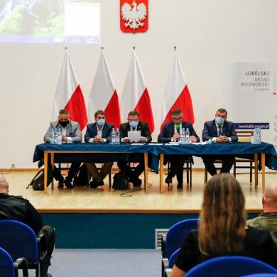 Spotkanie Zespołu Doradczego do Spraw Zapobiegania oraz Zwalczania Afrykańskiego Pomoru Świń na terenie województwa lubelskiego