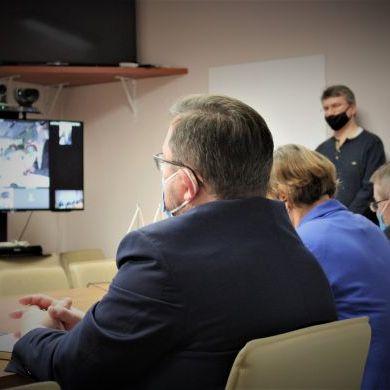 Wideokonferencja strony polskiej z władzami weterynaryjnymi Królestwa Arabii Saudyjskiej (2)