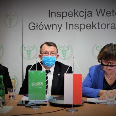 Wideokonferencja strony polskiej z władzami weterynaryjnymi Królestwa Arabii Saudyjskiej (3)